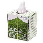 100% Recycled Facial Tissue 2-Ply Pop-up Cube Box 85Box (SEV13719)