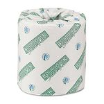 Green Plus Bathroom Tissue 2-Ply White 500 Sheets per Roll Carton of 80 Rolls (BWK24GREEN)