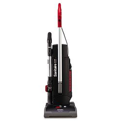 Sanitaire Commercial Duralux Two-Motor Upright Vacuum Red (EUKSC9180B)