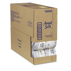 Angel Soft ps Premium Bathroom Tissue 450 Sheets per Roll Carton of 40 Rolls (GEP16840)