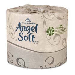 Angel Soft ps Premium Bathroom Tissue 450 Sheets per Roll Carton of 80 Rolls (GEP16880)