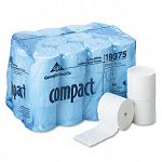 Compact Coreless Bath Tissue 1000 Sheets per Roll Carton of 36 Rolls (GEP19375)