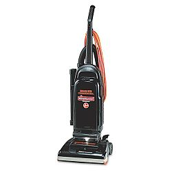 Commercial WindTunnel Bag-Style Upright Vacuum 17 lb BlackSafety Orange (HVRC1703900)