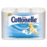 KLEENEX COTTONELLE Ultra Soft Bath Tissue 1-Ply 200 Sheets Carton of 48 Rolls (KIM12456)