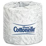 KLEENEX COTTONELLE Two-Ply Bathroom Tissue 505 Sheets per Roll Carton of 20 Rolls (KIM13135)