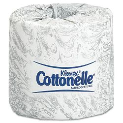 KLEENEX COTTONELLE Two-Ply Bathroom Tissue 505 Sheets per Roll Carton of 60 Rolls (KIM17713)
