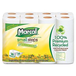 100% Premium Recycled 2-Ply Toilet Tissue Carton of 96 Rolls (MRC16466)