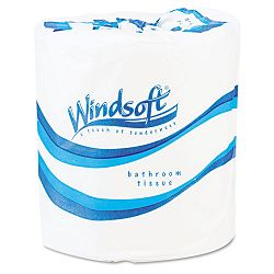 Single Roll Bath Tissue 500 Sheets per Roll Carton of 96 Rolls (WNS2200)