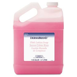 Mild Cleansing Pink Lotion Soap Pleasant Scent Liquid 1 Gallon Bottle Carton of 4 (BWK410CT)