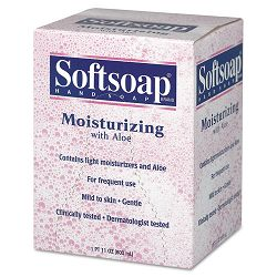 Moisturizing Soap wAloe Unscented Liquid Dispenser 800 mL. Carton of 12 (CPM01924CT)