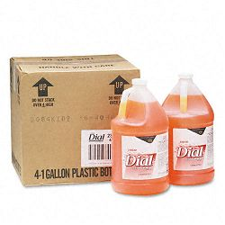 Liquid Gold Antimicrobial Soap Unscented Liquid 1 Gallon Bottle Carton of 4 (DPR88047CT)
