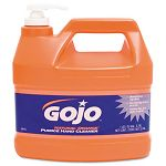 Natural Orange Pumice Hand Cleaner Orange Citrus 1 Gallon Pump Carton of 4 (GOJ095504CT)