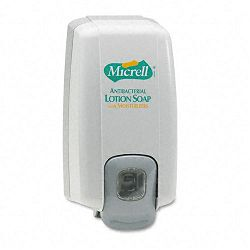 "MICRELL NXT Lotion Soap Dispenser 1000 mL. 5-18""w x 3-34""d x 10""h Dove Gray (GOJ212506)"