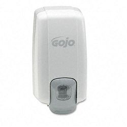 "NXT Lotion Soap Dispenser 1000 mL. 5-18""w x 3-34""d x 10""h Dove Gray (GOJ213006)"