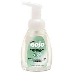 Green Certified Foam Soap Fragrance-Free Clear 7.5 oz. Pump Bottle (GOJ571506)