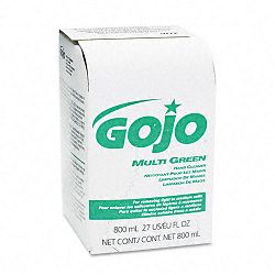 MULTI GREEN Hand Cleaner 800-mL. Bag-in-Box Dispenser Refill (GOJ917212EA)
