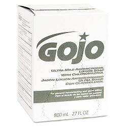 Ultra Mild Lotion Soap with Chloroxylenol Refill Lightly Scented 800-mL. (GOJ921212EA)