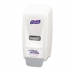 "Bag-In-Box Hand Sanitizer Dispenser 800ml 5-58""w x 5-18""d x 11""h WE (GOJ962112)"