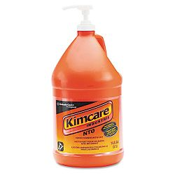 KIMCARE INDUSTRIE NTO Hand Cleaner with Grit Orange 1 Gallon Pump Bottle Carton of 4 (KIM91057CT)
