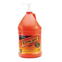 KIMCARE INDUSTRIE NTO Hand Cleaner with Grit Orange 1 Gallon Pump Bottle (KIM91057EA)