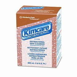 KIMCARE ANTIBACTERIAL Skin Cleanser Floral 800 mL. Bag In Box (KIM91298EA)