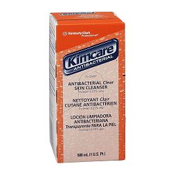 KIMCARE ANTIBACTERIAL Clear Skin Cleanser Floral 500ml Bag In Box Carton of 18 (KIM92517)