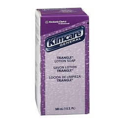 KIMCARE GENERAL TRIANGLE Lotion Soap Floral 500ml Bag In Box Carton of 18 (KIM92538)