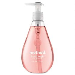Hand Wash Pink Grapefruit Liquid 12 oz Bottle (MTH00039)