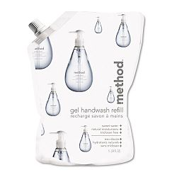 Gel Hand Wash Refill 34 oz. Sweet Water Scent Plastic Pouch (MTH00652)