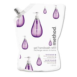 Gel Hand Wash Refill 34 oz. Natural Lavender Scent Plastic Pouch (MTH00654)