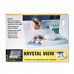 "KrystalView Desk Pad 22"" x 17"" Clear (AOP6070S)"