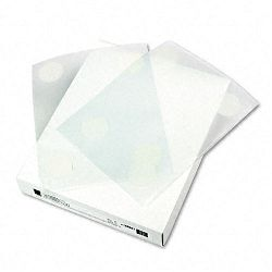 "Cubicle Keepers Velcro-Backed Display Holders 8 12"" x 11"" Clear Pack of 25 (CLI38991)"