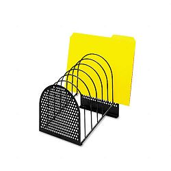 "Perf-Ect Step File Seven Sections MetalWire 7"" x 9 78"" x 9 18"" Black (FEL22303)"