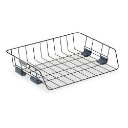 Side Load Letter Desk Tray Wire Black (FEL62112)