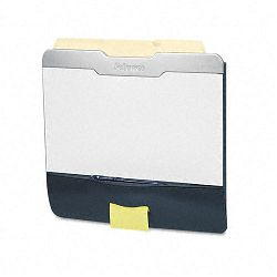"Pro Series Partition Additions File Pocket Plus 14"" x 13"" Dark Graphite (FEL7526601)"