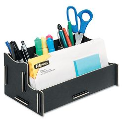 Earth Series 100% Recycled Organizer Black (FEL8015201)