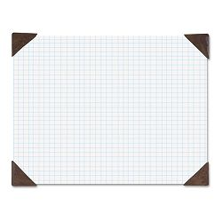 "Refillable Compact Doodle Pad Ruled Pad 18 12"" x 13"" WhiteBrown (HOD410003)"