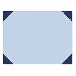 "Ecotones Desk Pad 25-Sheet Pad 22"" x 17"" Ocean BlueBlue Denim (HOD440)"