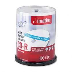 CD-R Discs 700MB80min 52x Spindle White Pack of 100 (IMN17274)