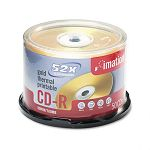 CD-R Discs 700MB80min 52x Spindle Gold Pack of 50 (IMN17300)