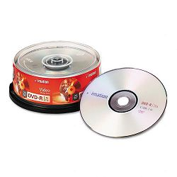DVD-R Discs 4.7GB 16x Spindle Silver Pack of 25 (IMN17340)