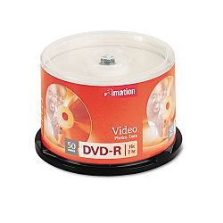 DVD-R Discs 4.7GB 16x Spindle Silver Pack of 50 (IMN17341)