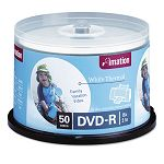 Thermal Printable DVD-R Discs 4.7GB 16x Spindle White Pack of 50 (IMN17352)