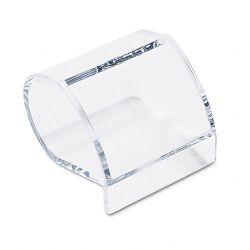 "Paper Clip Holder Acrylic 3"" x 2 34"" x 3 12"" Clear (KTKAD40)"