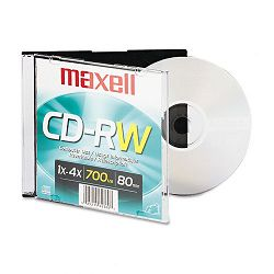 CD-RW Branded Surface 650MB74min 4x (MAX630010)