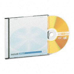 DVD-R Discs 4.7GB 16x with Jewel Cases Gold Pack of 10 (MAX638004)