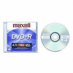 DVD+R Disc 4.7GB 16x with Jewel Case Silver (MAX639000)