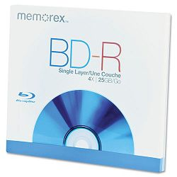 Blu-Ray BD-R Recordable Disc 25GB (MEM97850)