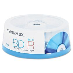 Blu-Ray BD-R Recordable Disc 25GB (MEM97854)