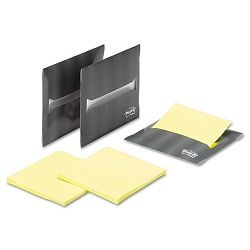 "Laptop Note Dispenser 3 x 3"" Gray Pack of 3 (MMMLND3303SC)"